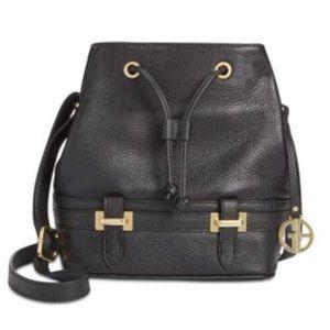 Giani Bernini Pebble Leather Bridle Bucket Bag